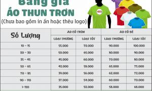 Chi tiết bảng giá đặt may đồng phục 2021 tại Hello Uniform